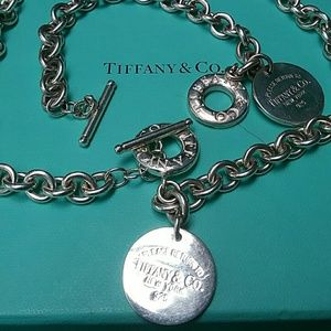 Tiffany and Co Set Women's necklace and Breclat